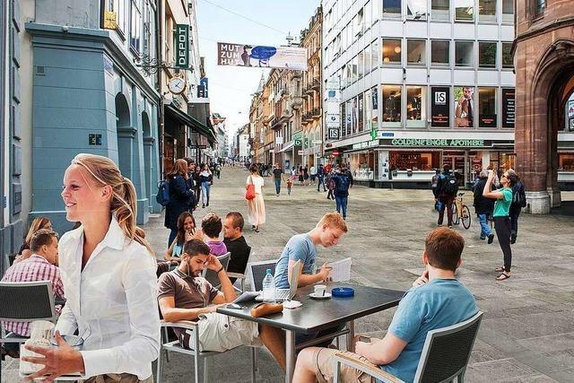 Die Basler Innenstadt soll für 16,5 Millionen Franken neu gestaltet werden