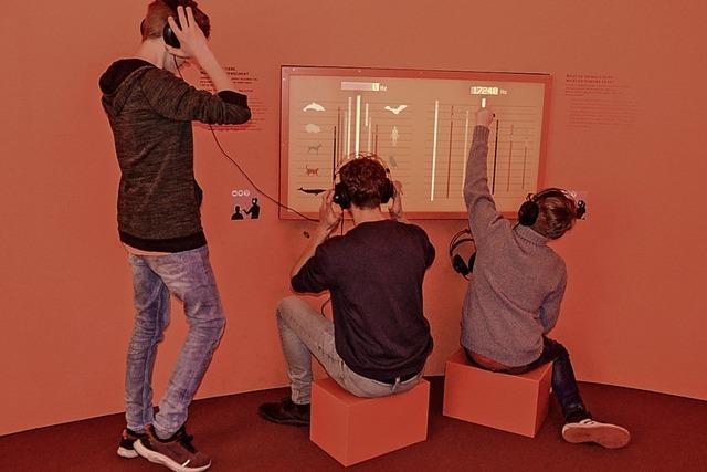 Mann im Ohr: Ausstellung zum Entdecken