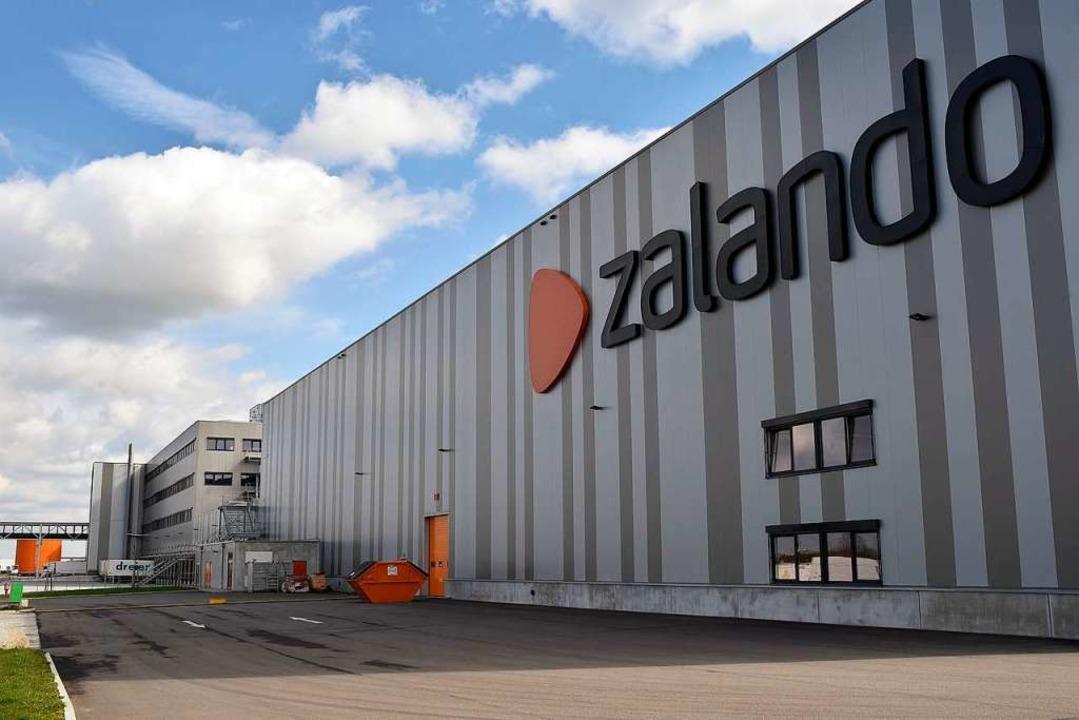 Bei Zalando in Lahr arbeiten deutlich mehr als 1000 Menschen.  | Foto: Thomas Kunz