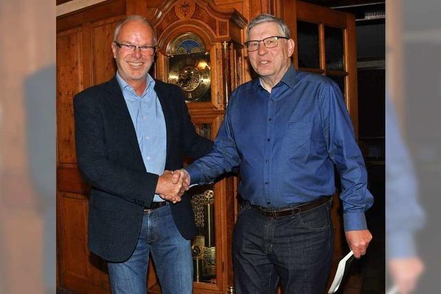 Klaus Kurz hört nach 26 Jahren als Vorsitzender des Heimatvereins auf