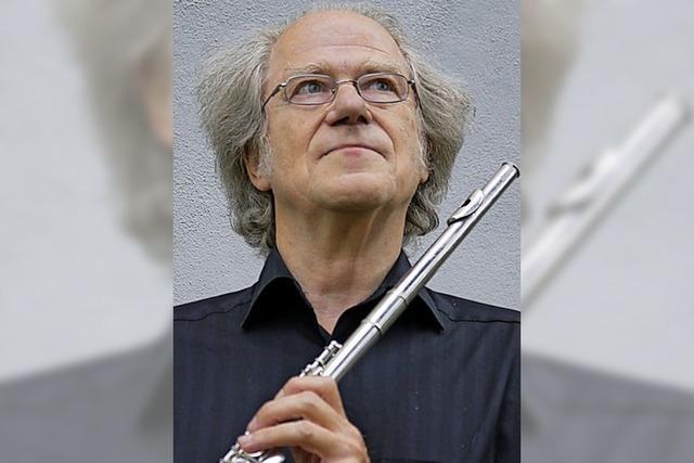 Kaufhaus-Serenade der Camerata Instrumentale Freiburg mit Flötenquartetten