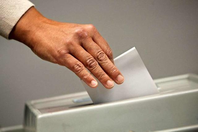 Kommunalwahl 2019 in Staufen: Ergebnis