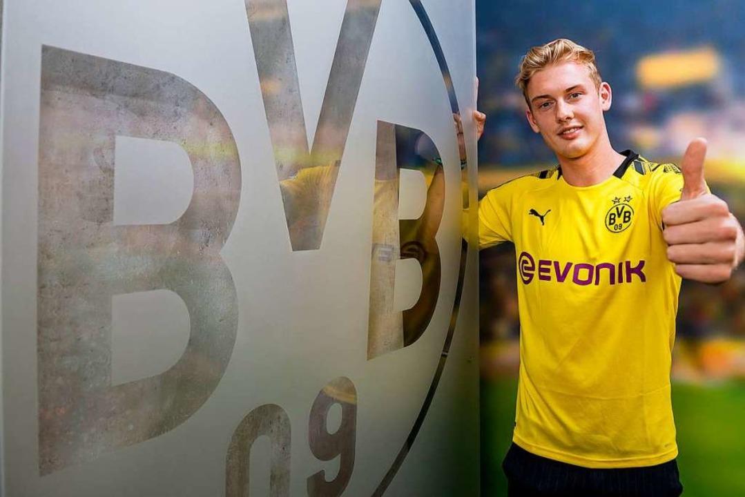 Von Leverkusen nach Dortmund: Julian Brandt  | Foto: Alexandre Simoes (dpa)