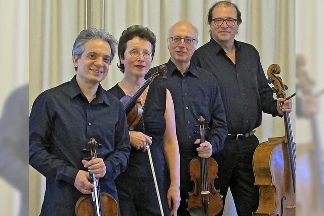 Segantini-Quartett in Emmendingen
