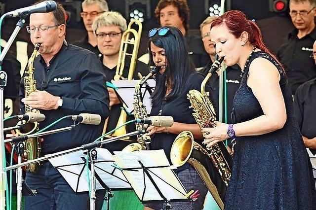 Big Band Elzach mit17 Musikern zu Gast in Gallaghers Nest