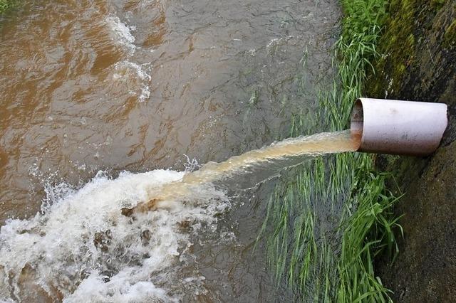 Hohe Investitionen für Abwasser