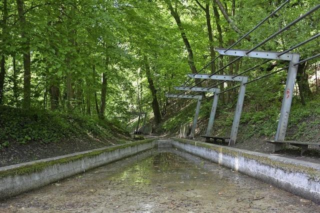 Wassergärten ohne Wasser
