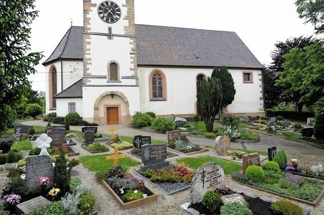 Neuordnung auf Friedhof