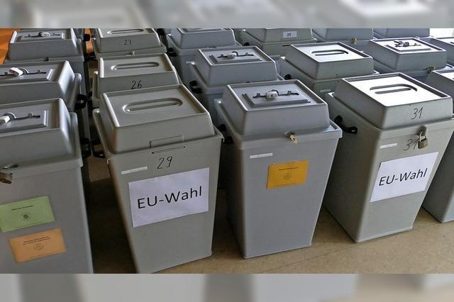 Bereit für die Stimmabgabe
