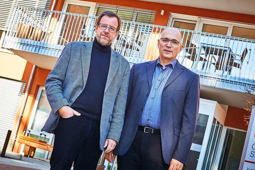 Christian Surbeck (links) und Klaus Koch  | Foto: thomas huber