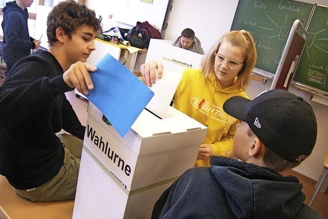 Hohe Wahlbeteiligung