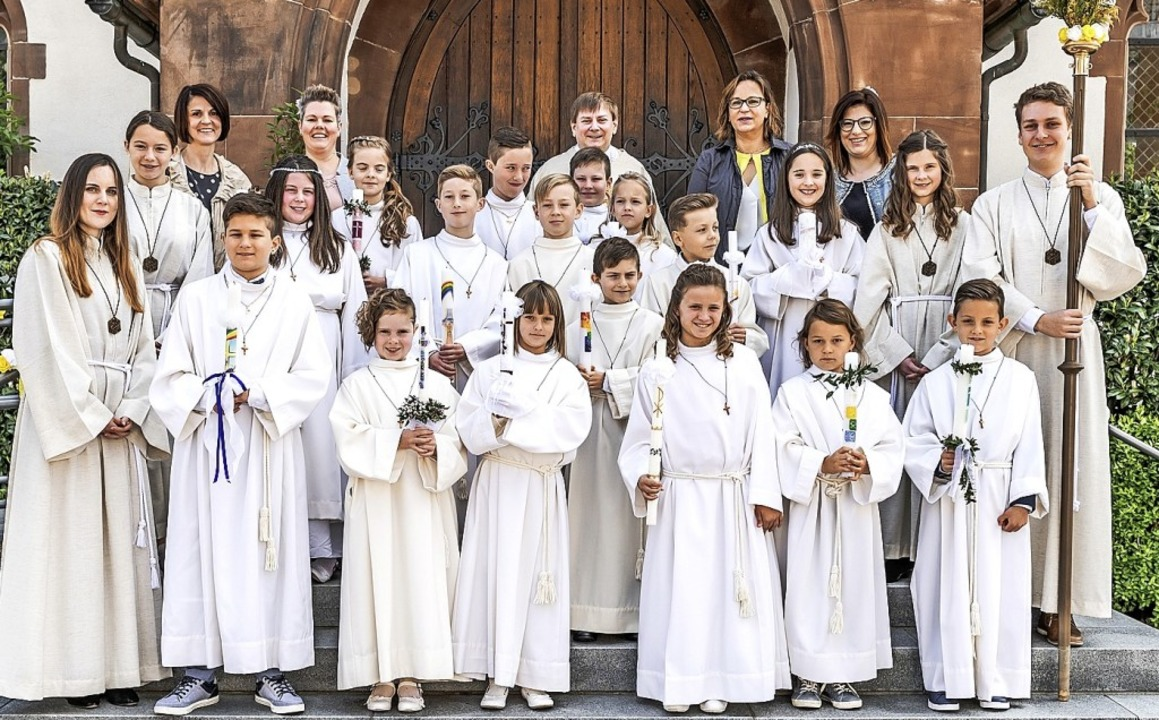 <BZ-FotoAnlauf>Pfarrei St. Josef: </BZ-FotoAnlauf>Erstkommunion in Hausen.  | Foto: Thorsten Springmann