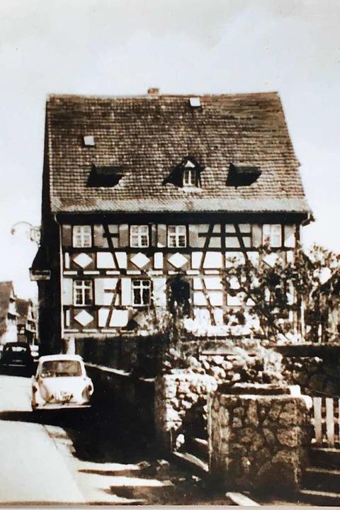 Das Gasthaus Sonne in den 60er Jahren  | Foto: Anja Kunz