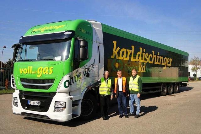 Warum auch in der Logistik Erdgas-Fahrzeuge wichtig werden