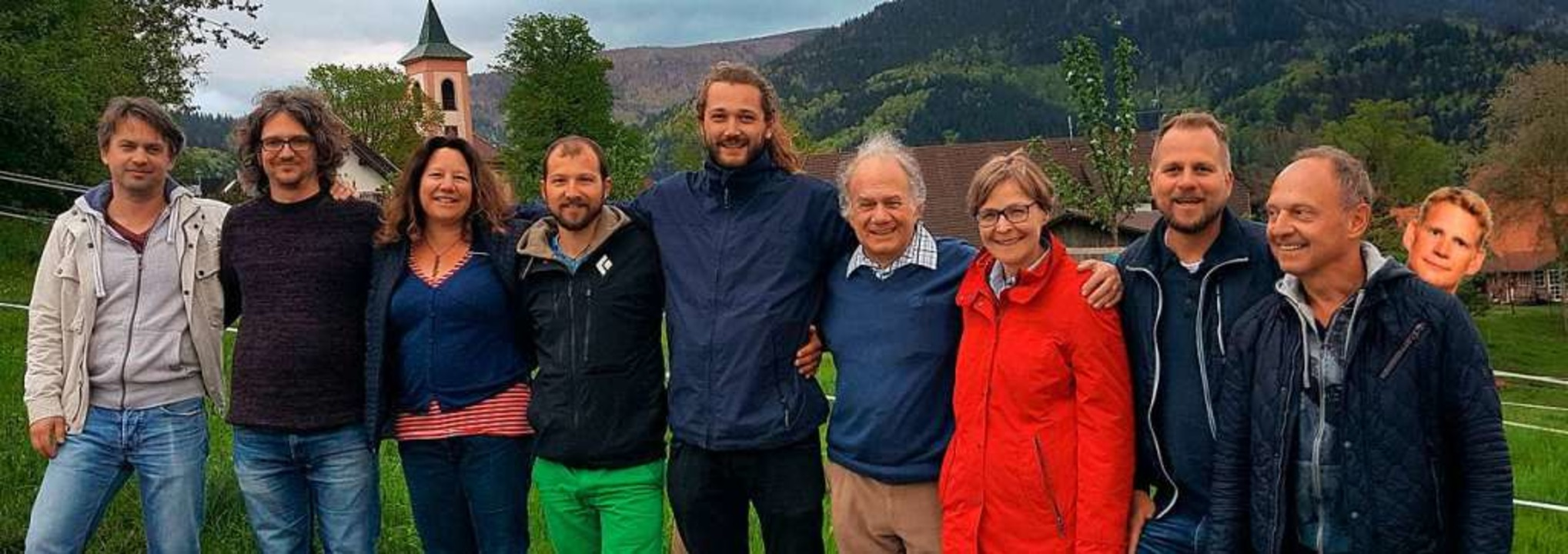 Die Kandidatinnen und Kandidaten von Horben-bleiben    Foto: Liste Horben-bleiben