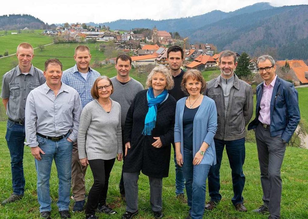 Die Kandidatinnen und Kandidaten der L...onauer, Hans-Peter Amann, Martin Böhme    Foto: Christian Brauner
