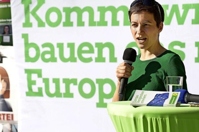 Grüne Ska Keller wirbt für Europa