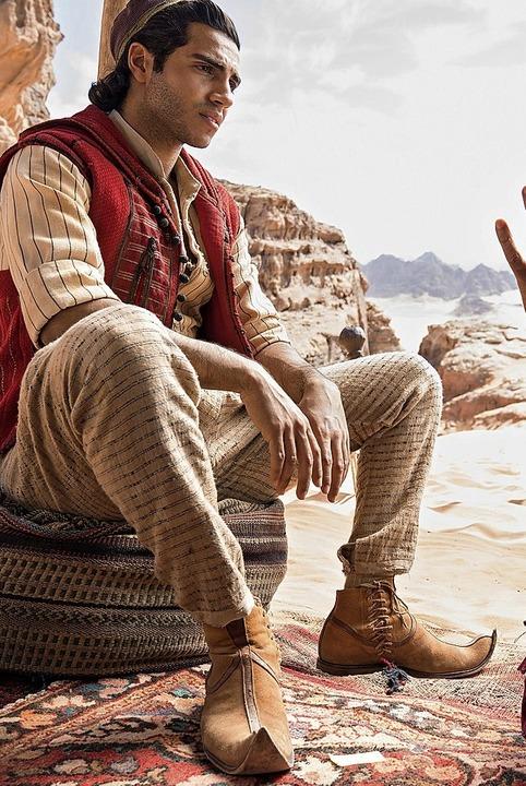 Mena Massoud als Aladdin  | Foto: Daniel Smith (dpa)