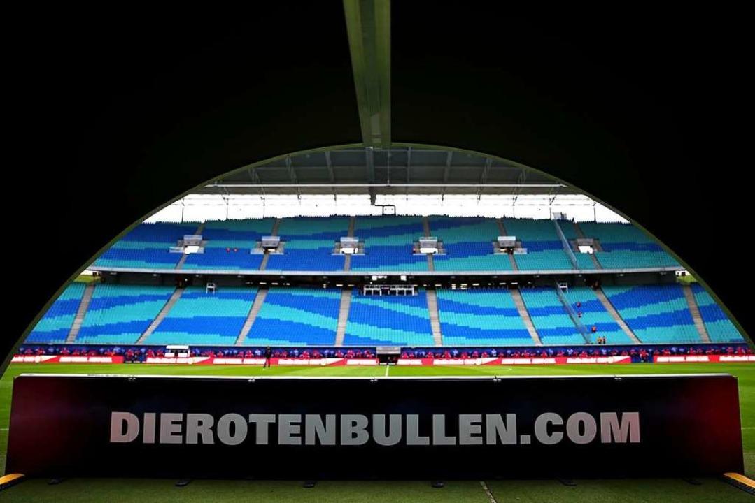 RB Leipzig ist noch nicht überall akze... Marke im deutschen Fußball geworden.     Foto: Jan Woitas