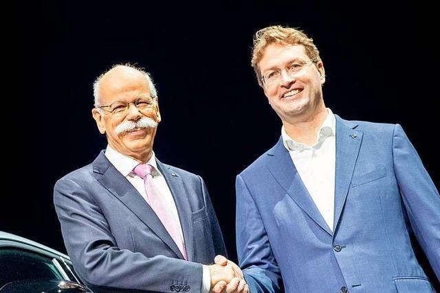 Dieter Zetsche übergibt das Ruder an seinen Nachfolger Ola Källenius