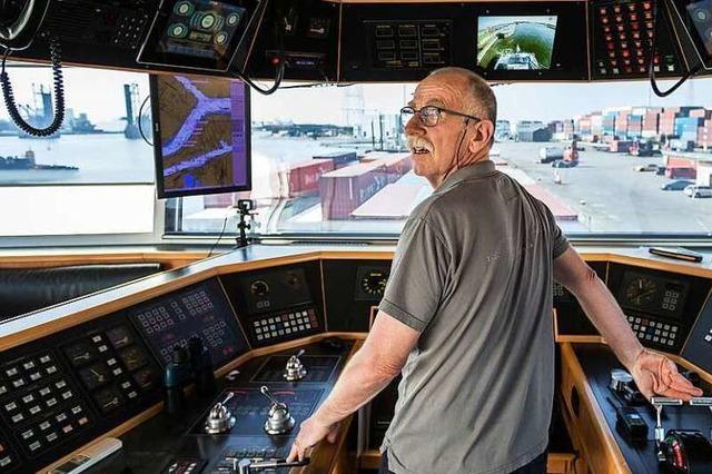 Arbeiten auf dem Rhein: Ein Frachterkapitän erzählt