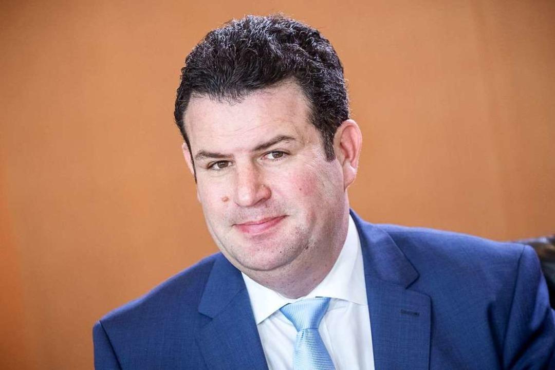 Hubertus Heil ist in der Bundesregierung Minister für Arbeit und Soziales   | Foto: Michael Kappeler