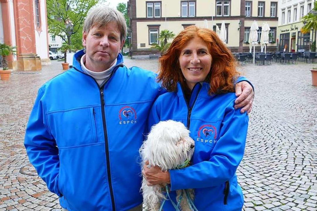 Marie-Claude und Ulrich Hartmann  | Foto: Martin Köpfer
