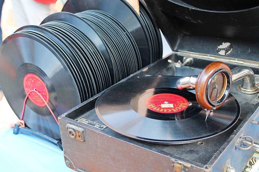 Auch Schallplattenliebhaber kommen auf ihre Kosten  | Foto: Wolfgang Koch