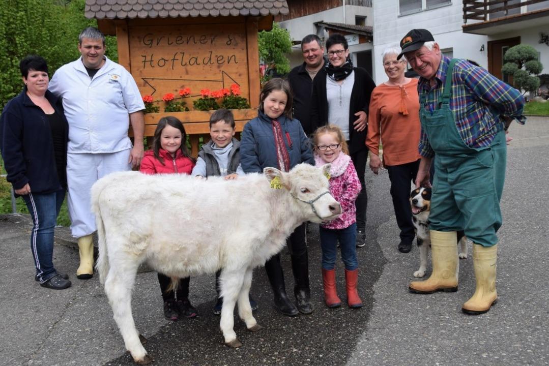 Die Familie Griener in Öflingen lädt zum großen Hoffest mit buntem Programm.   | Foto: Hildegard Siebold