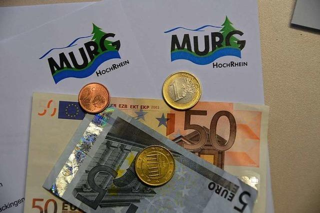 Murg steht finanziell besser da als erwartet