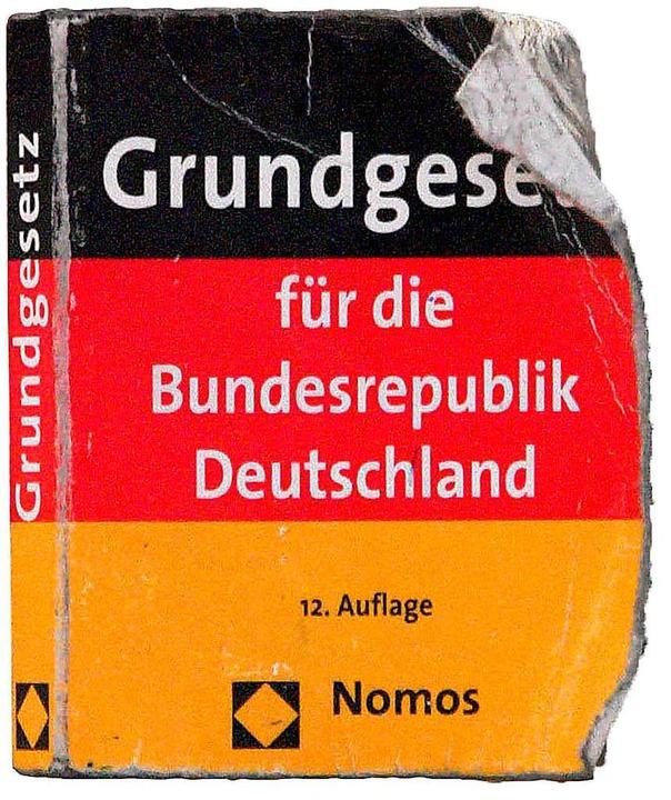 Heute vor 70 Jahren ist das Grundgesetz in der Bundesrepublik in Kraft getreten  | Foto: Wolfgang Grabherr