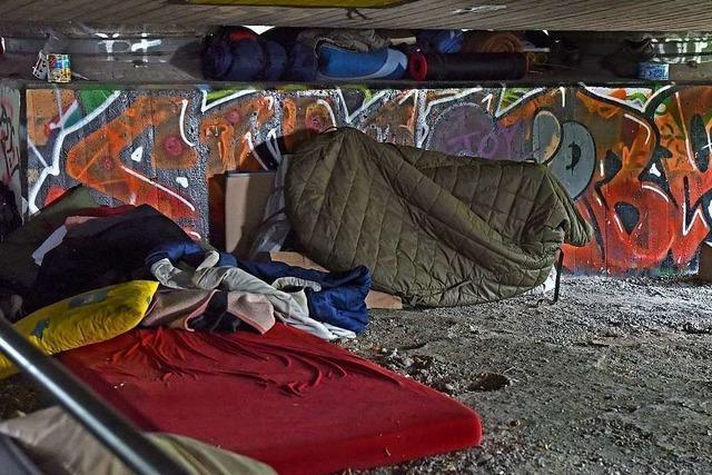 Obdachlosenheim auf der Freiburger Haid wird erst im Herbst fertig
