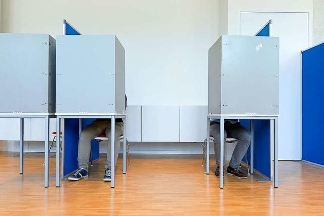Beim Wahlkampf-Endspurt in Freiburg sind die Wähler müde