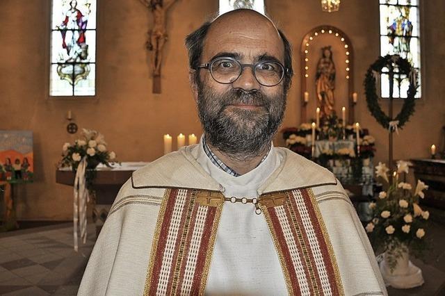 Pfarrer Schwarz will kürzertreten