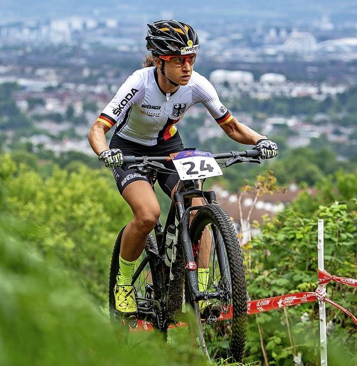 Adelheid Morath will ihre gute Trainin...in gutes Wettkampfresultat ummünzen.    | Foto: Thomas Weschta