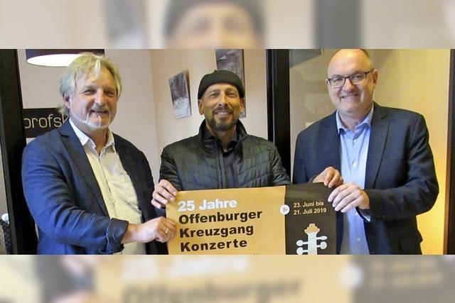 Zum 25. Mal erfüllen die Kreunzgangkonzerte an Juni- und Juli-Sonntagen den Kreuzgang des Offenburger Kapuzinerklosters