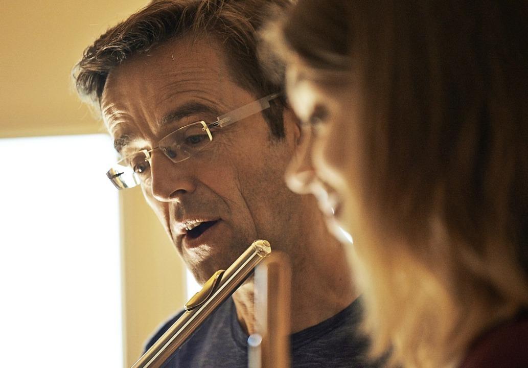 Nächste Woche wieder beim Festival  in...tiv: Querflöten-Pädagoge Rudolf Döbler  | Foto: Ralf Killian