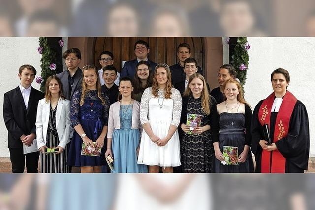 Konfirmation der Kirchengemeinde Hausen-Raitbach