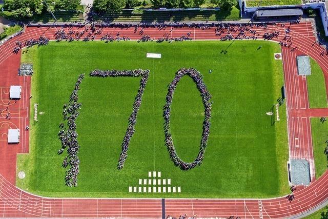 3500 Schüler feiern das Grundgesetz