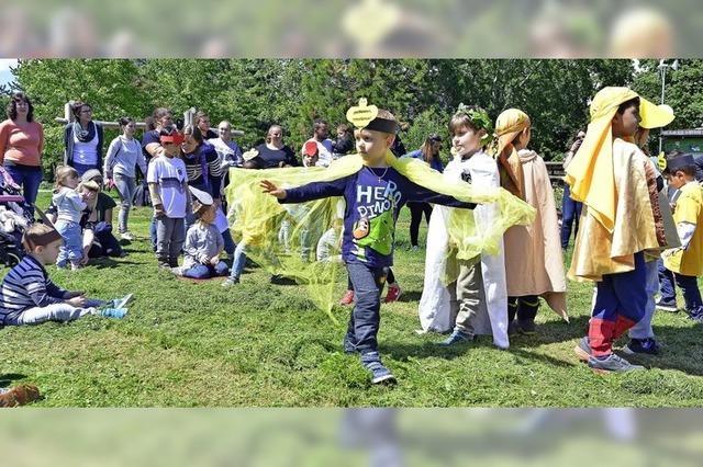 Ein Projekt der Kita Violett soll große Wahrheiten kindgerecht erfahrbar machen
