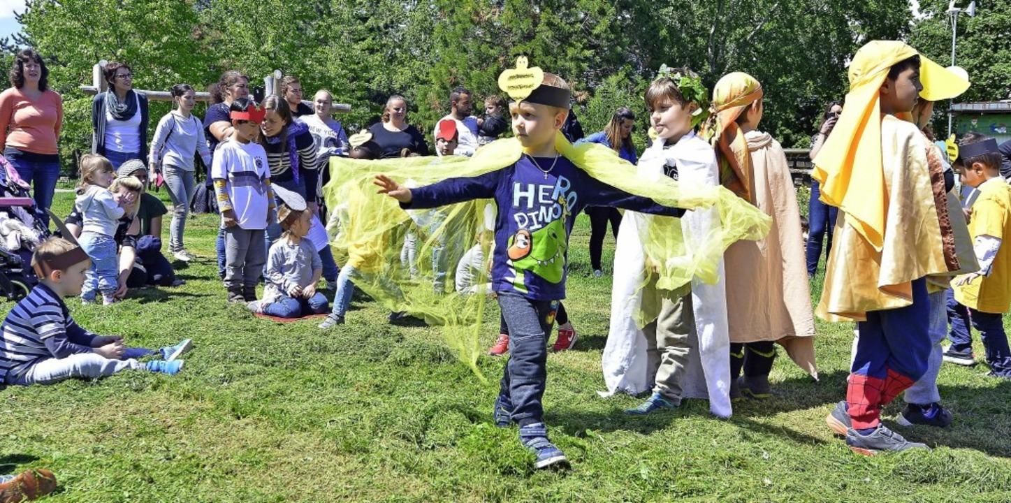 Beim Fest zum Projektstart haben unter anderem die Bienen einen großen Auftritt.  | Foto: Michael Bamberger
