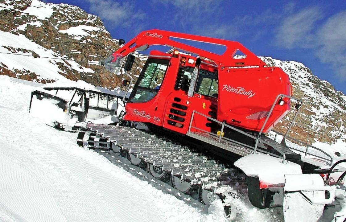 Wie in den Alpen kommen auch im Skigeb...tenbullys mit Seilwinden zum Einsatz.   | Foto: Kässbohrer