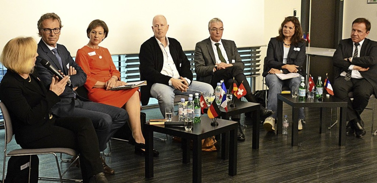 Kathrin Amacker, Matthias Suhr, Marion...Bänziger und  Gilbert Stimpflin (v.l.)  | Foto: Annette Mahro