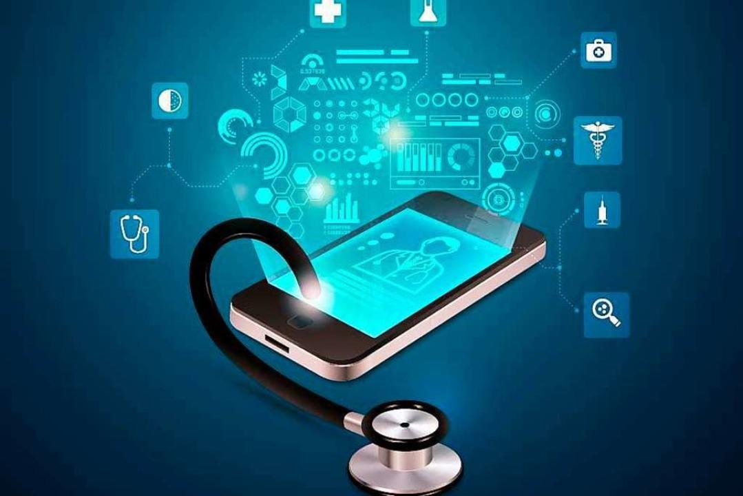 Wie geht es mit digitalen Anwendungen in der Medizin weiter?  | Foto: Jackie Niam adobe
