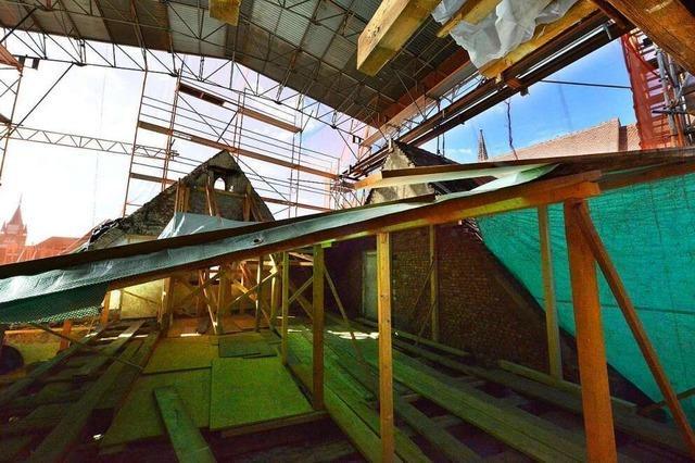 Das Augustinermuseum bleibt noch zwei Jahre länger Baustelle