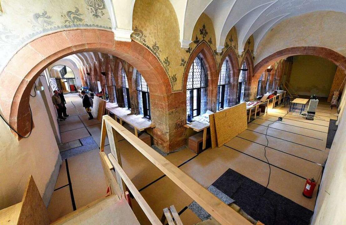 Manche Teile des Museums geben schon e...k, wie es später einmal aussehen wird.  | Foto: Thomas Kunz