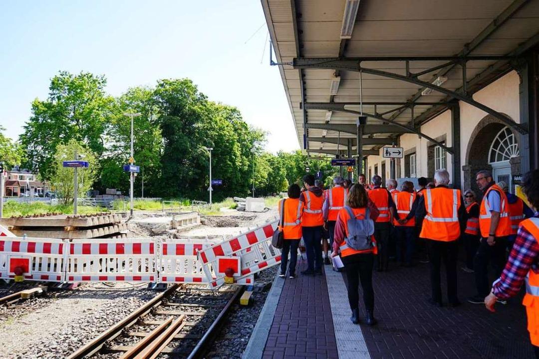 Der Breisacher Bahnhof war auch eine Station.    Foto: Julius Wilhelm Steckmeister