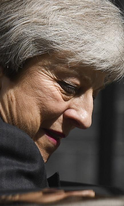Theresa May   | Foto: DANIEL LEAL-OLIVAS (AFP)