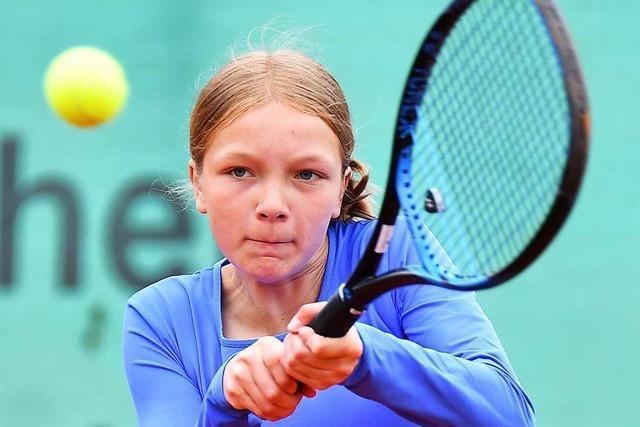 Aufsteiger TC Rheinfelden beeindruckt mit Tennis-Youngstern