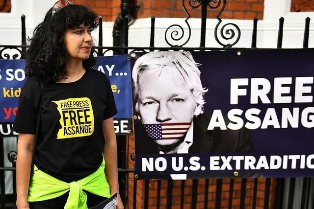 US-Justiz verschärfen Anklage gegen Wikileaks-Gründer Assange